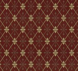Wallpaper - Skogshyddan red/gold