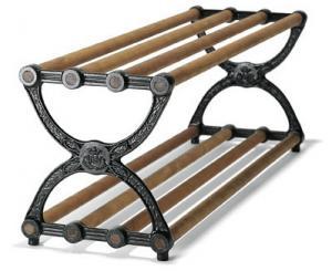 Shoe-rack oak - Sekelskifte 120 cm