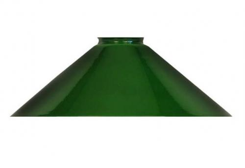 Shoemaker lamp shade - 25 cm green
