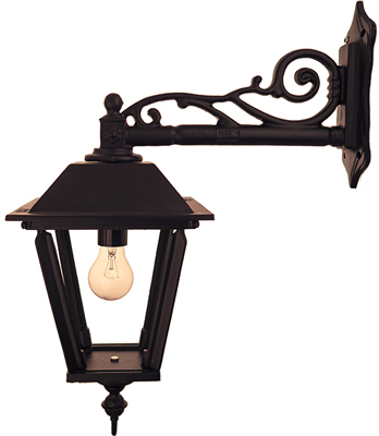 Exterior Lamp - Wall lantern Solgård L4 hanging - old style - vintage - classic interior - retro