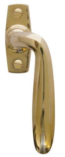 Espagnolette handle - Låsbolaget 617 Brass