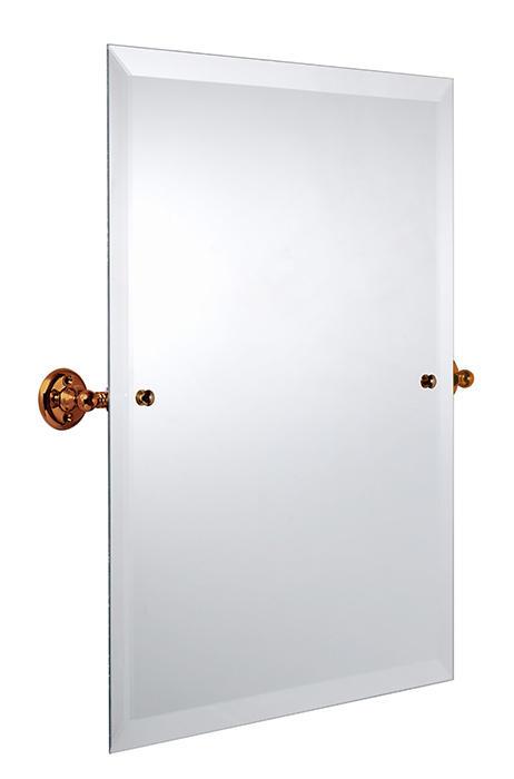 Bathroom Mirror - Burlington Rectangular - Bronze 45 x 60 cm