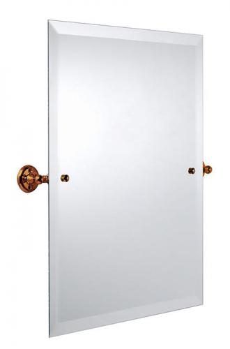 Bathroom Mirror - Burlington Rectangular - Bronze 45 x 60 cm