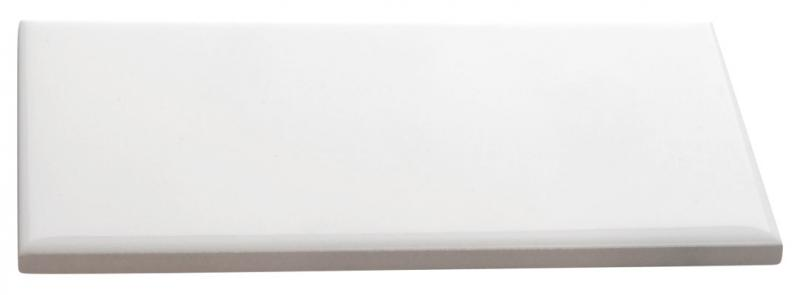 Wall tile Victoria - 7.5 x 15 cm white, glossy