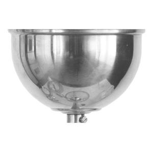 Ceiling cup for lamps - Nickel