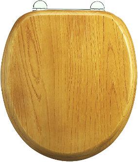 Soft close toilet seat - Burlington, oak