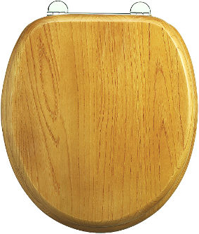 Soft close toilet seat - Burlington, oak