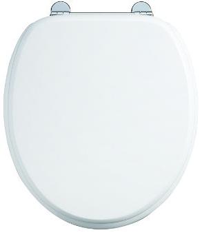 Soft close toilet seat - Burlington, white