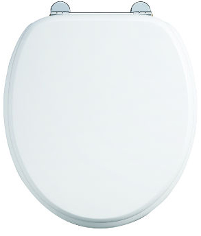 Soft close toilet seat - Burlington, white