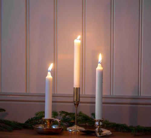 Candlestick - Dalarö brass