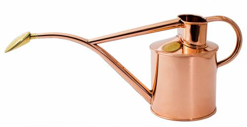 Watering can - Copper 1 L - old fashioned style - vintage interior - retro