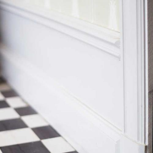 Tips & facts - Old style floor trim