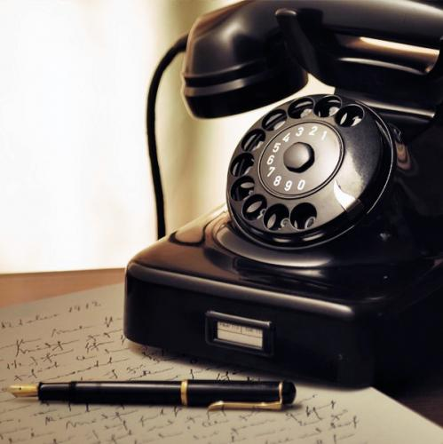 Bakelite - a common material in older everyday gadgets such as phones, power outlets and power switches.