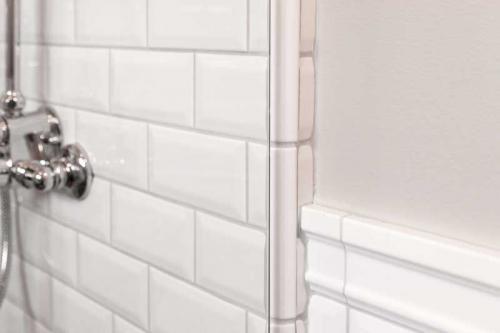 Inspiration - Badrum med duschvägg