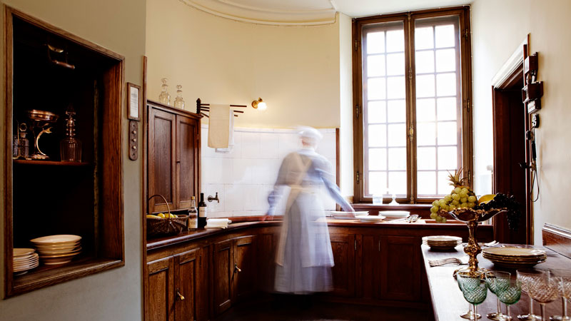 Tips & Facts - The kitchen in Hallwyl's palace - old style - vintage style - classic interior - retro