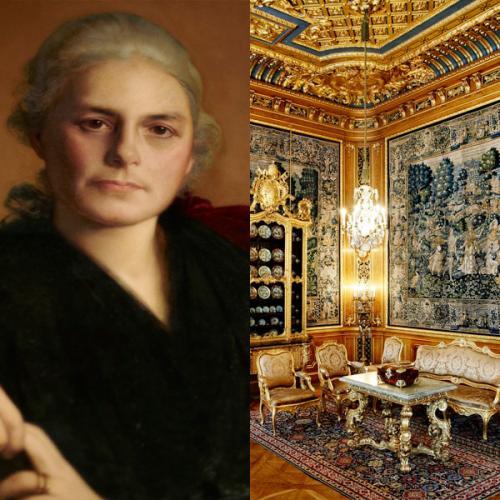 Tips & Fakta - Wilhelmina Hallwyl och hennes palats - gammaldags stil - klassisk inredning - sekelskifte - retro