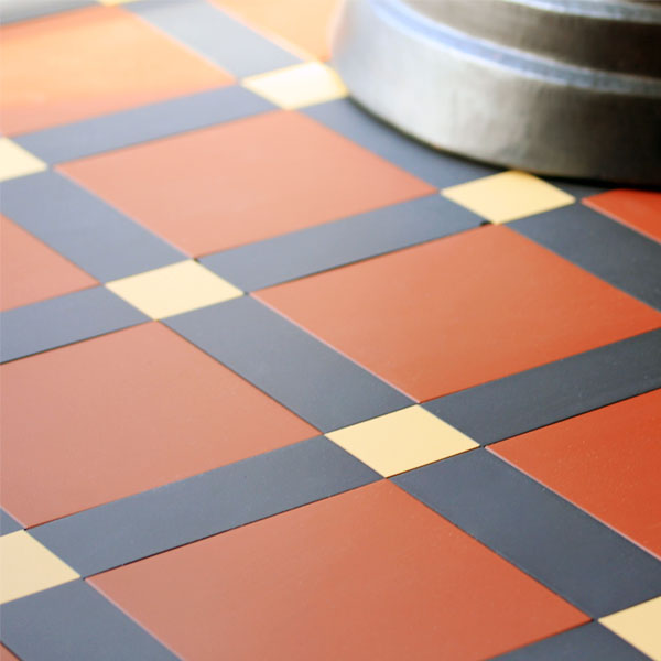 Winckelmans tiles - Victorian Tiles - old style - classic interior - vintage style - old fashioned