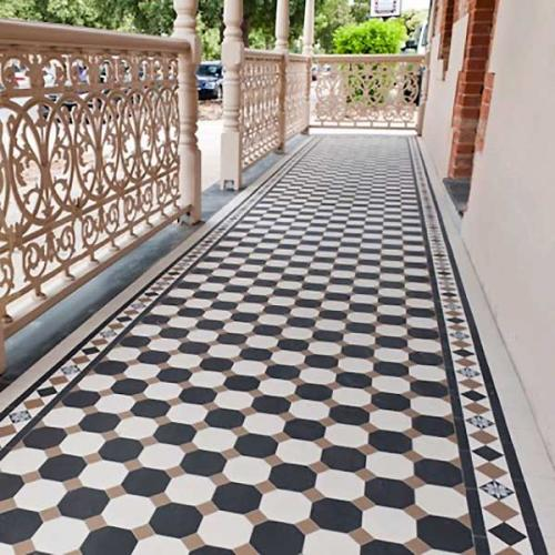 Inspiration - Tiles in outdoor environment
