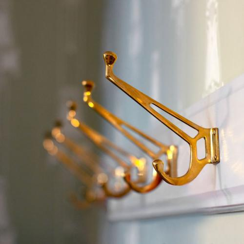 Inspiration -   DIY-project hook rack