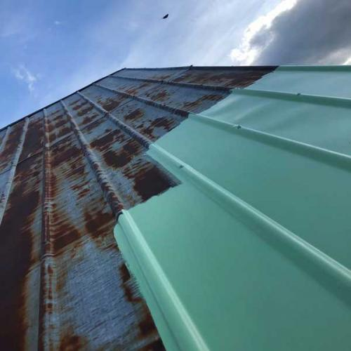 Facts & Info -  Paint tin roof with linseed oil paint