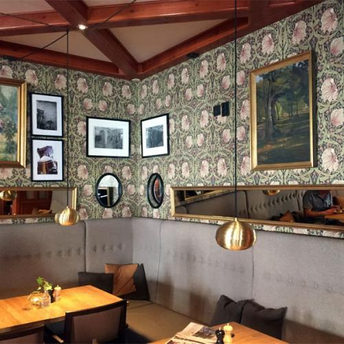 Inspiration - The Wallpaper Pimpernell by William Morris