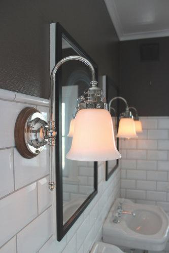 Badrum badrum belysning : Badrumsbelysning / badrumslampor i klassisk gammaldags stil ...