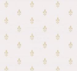 Wallpaper Fransk Lilja Whitegold