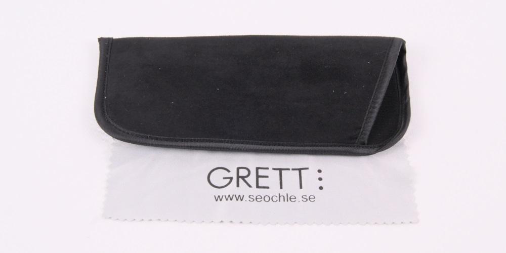 Holland - smäckra läsglasögon i svart med fjäderskalmar  ce391c96ac172
