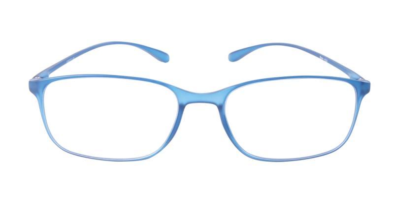 Läsglasögon - Bern i blått framifrån