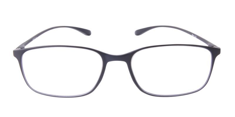 Läsglasögon - Bern i svart framifrån