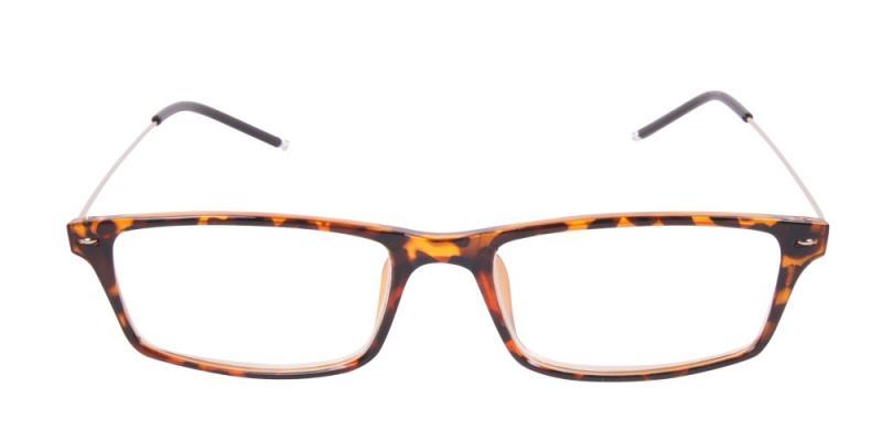 Blackpool - bruna lätta läsglasögon