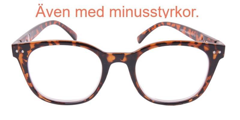 Bradford - sköldpaddsfärgade läsglasögon (- 1.50) ace6ad9579060