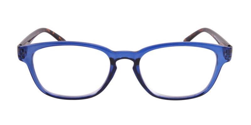 Calais - blå front med sköldpaddsmönstrade skalmar