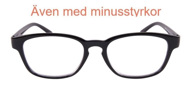 Calais - blanka svarta glasögon