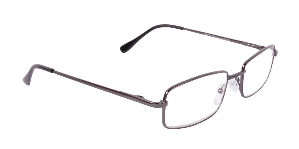 Grå läsglasögon med metallbågar 34fa3359782f1