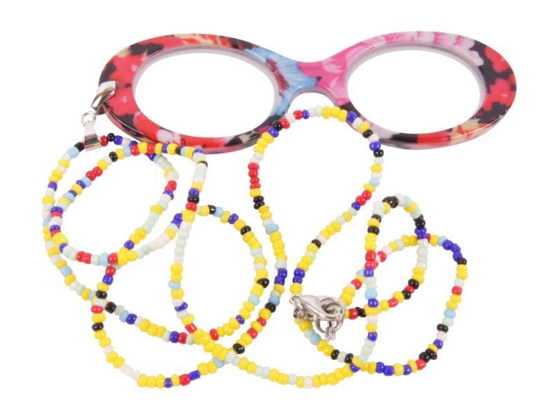 Lornjett - glasögon i halsband