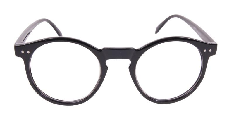 Luton - blanka svarta glasögon