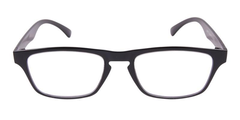 Rugby - läsglasögon i svart (+ 1.00)  6b2c68a6a8501