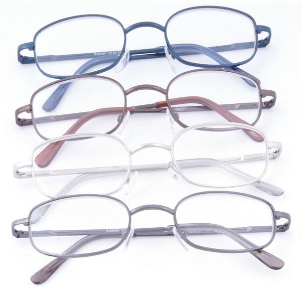 Sweden - set med fyra par glasögon