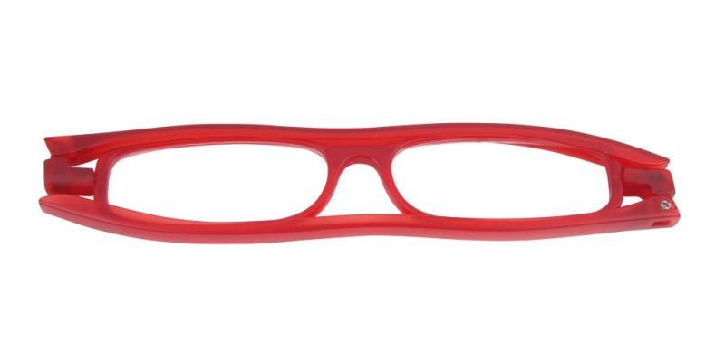 Hopvikbar modell i rött