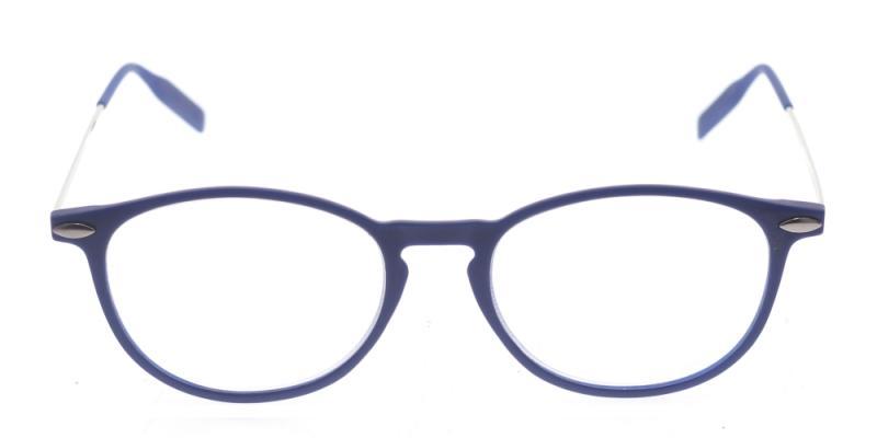 TR90 Blå rund modell