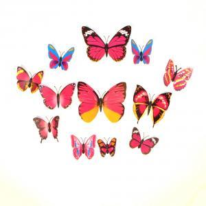 Dekorativa cerisea fjärilar (modell 1)