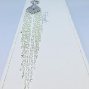 Molina - Elegant tasselörhänge i äkta sterlingsilver med kubiska zirkonia