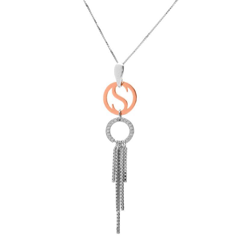 Tessa - Läckert halsband i äkta sterlingsilver