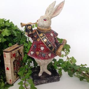 Kanin med trumpet