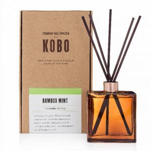 KOBO, Woodblock, doftpinnar Bamboo Mint diffuser