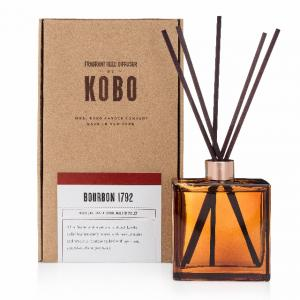 KOBO Woodblock, doftpinnar, Bourbon 1792  diffusers