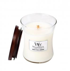 WoodWick, White Tea & Jasmine