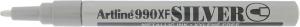 ARTLINE MARKER METALLIC 990XF 1.2MM  SILVER