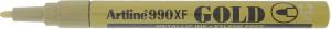 ARTLINE MARKER METALLIC 990XF 1.2MM GULD